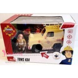 Sam a tűzoltó játékok Tom terepjáró autója Simba Toys