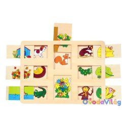 Mi van alatta? puzzle