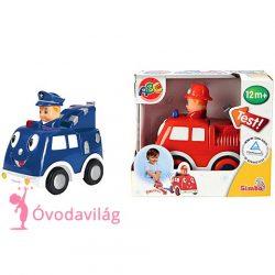 ABC nyomd és megy kisautó-Simba Toys