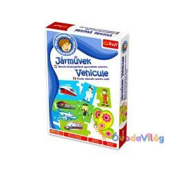 Kis felfedező oktató játék: Járművek-ovodavilag.hu