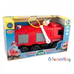 Tűzoltó autó dobozban-Lena