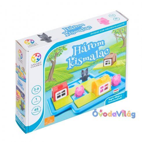 Smart Games Három kismalac logikai játék - ovodavilag.hu