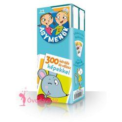 Agymenők kártyajáték 3-4 éveseknek
