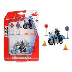 Rendőrmotor játék szett-Dickie Toys