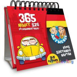 Agymenők 365 német szó példamondatokkal 9-11 évesek