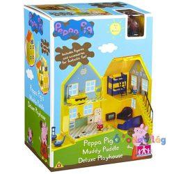 Peppa Malac Deluxe Házikó játékszett-ovodavilag.hu