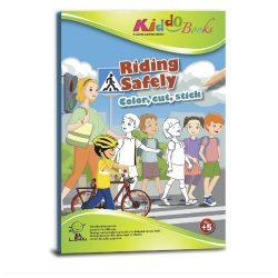 Közlekedj okosan foglalkoztató könyv-Kiddo Books