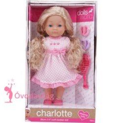 Charlott fésülhető puhatestű baba