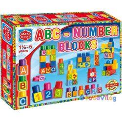 Maxi Bloks ABC építőkockák - D-toys-ovodavilag.hu