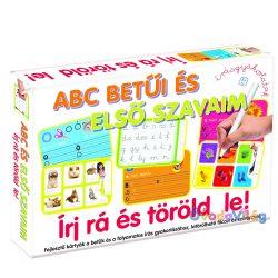 Írj rá és töröld le! ABC Betűi és első szavaim