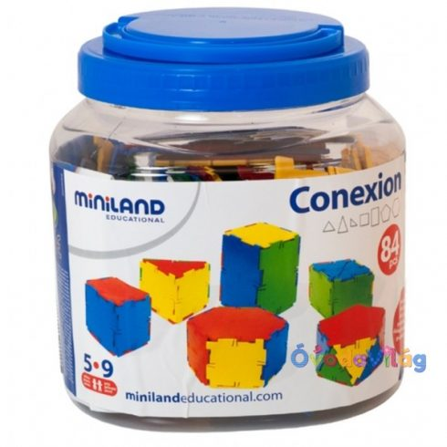 Építõ játék 84 db-os Conexion Miniland-ovodavilag.hu