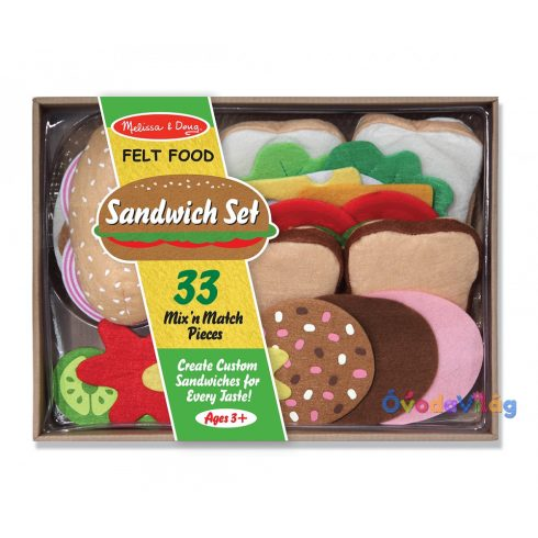 Filc szendvics készítő Melissa & Doug - ovodavilag.hu