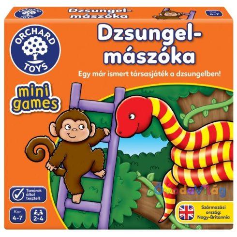 Kígyók és létrák a dzsungelben társasjáték Orchard Toys