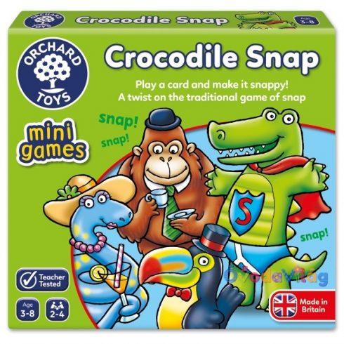 Krokodilos gyorsasági kártyajáték Krokodil! Taps!  ORCHARD TOYS