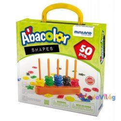 Abacolor shapes - Színes abakusz számoló -ovodavilag.hu