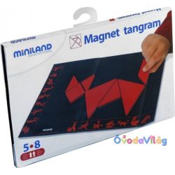 Mágneses Tangram, MINILAND -ovodavilag.hu