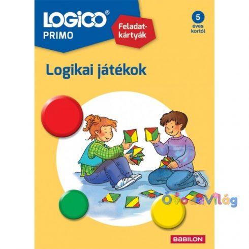 Logico Primo feladatkártyák - Logikai játékok