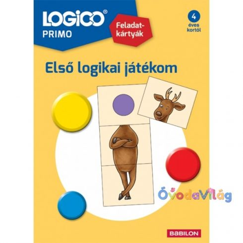 Logico Primo Első logikai játékom - ovodavilag.hu