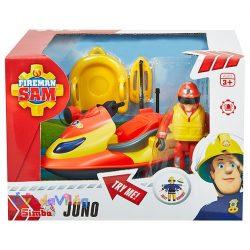 Sam a tűzoltó játék Juno ski figurával