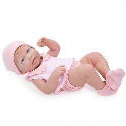 Újszülött lány játékbaba szőke hajjal-Berenguer