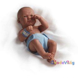 Berenguer élethű karakter játékbaba fiú kék pelenkával 36cm - ovodavilag.hu