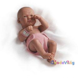 Berenguer élethű karakter játékbaba lány rózsaszín pelenkával 36cm-ovodavilag.hu
