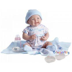 Berenguer Játékbabák - újszülött lány luxus baba kék ruhában kiegészítőkkel-ovodavilag.hu