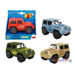 Jeep Wrangler puha kisautó többféle-Dickie Toys