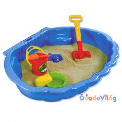 Kagylós homokozó medence-D-toys