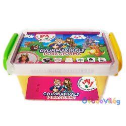 Gyurmakirály 6 színű gyurmakészlet tároló dobozban-ovodavilag.hu