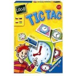 Logo Tic Tac Hany ora van? társasjáték Ravensburger - ovodavilag.hu