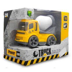 Játék betonkeverő autó