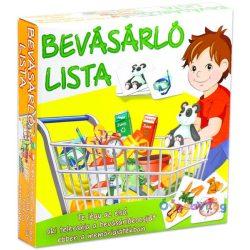 Bevásárló lista oktató társasjáték