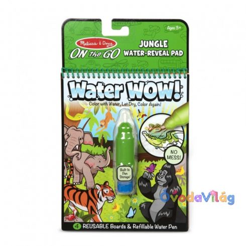 Melissa & Doug Kreatív játék Rajzolás vízzel dzsungel