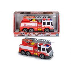 Tűzoltó autó fénnyel hanggal és locsolóval-Dickie toys