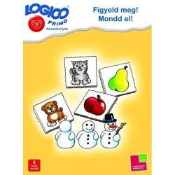 Logico Primo feladatkártyák - Figyeld meg! Mondd el!