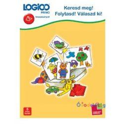 Logico Primo feladatkártyák - Keresd meg! Folytasd! Válaszd ki!