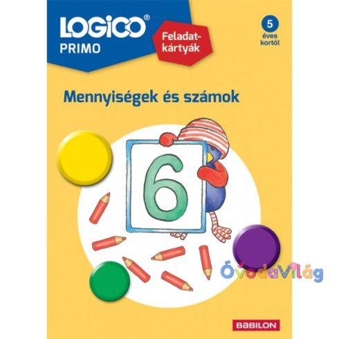 Logico Primo feladatkártyák - Számok és mennyiségek 10-ig