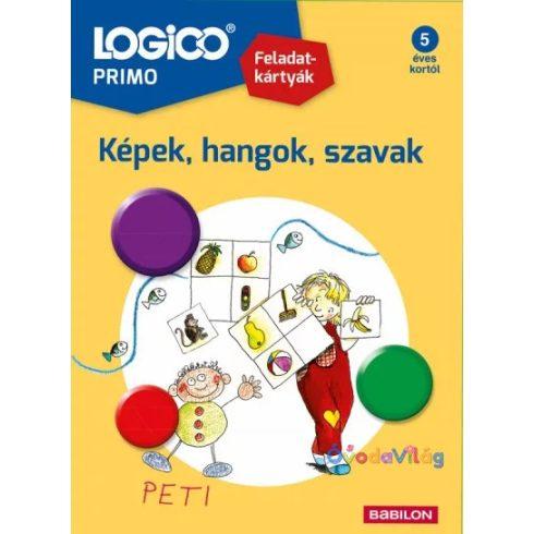 Logico Primo feladatkártyák - Képek,hangok,szavak
