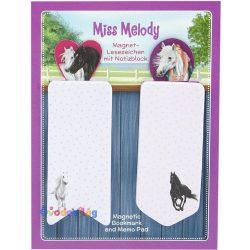 Magneses-konyvjelzo-es-jegyzettomb-lila-Miss-Melod