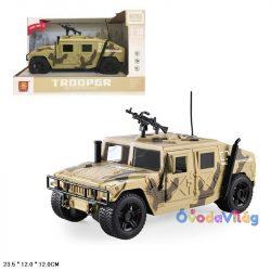 Játék katonai terepjáró autó fénnyel és hanggal-ovodavilag.hu