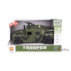 Játék katonai terepjáró autó hanggal és fénnyel-ovodavilag.hu
