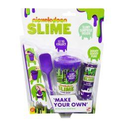 Csináld magad Slime készlet lila-Niskelodeon
