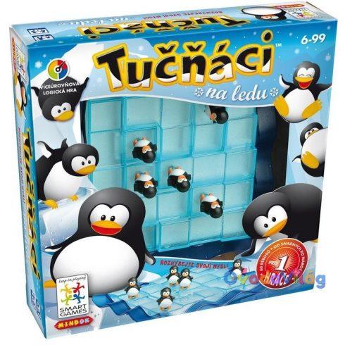 Pingvinek a jégen logikai játék-Smart Games