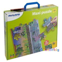 Folyamat puzzle, szilikonos, MINILAND -ovodavilag.hu
