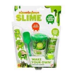 Zöld színű slime csináld magad készlet