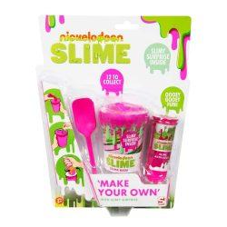 Pink színű csináld magad slime készlet trutyi Nickelodeon