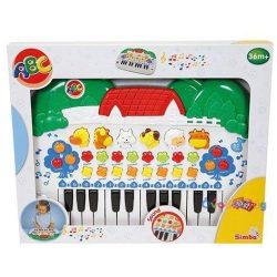 Állathangos Játék zongora-Simba
