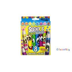 Scentos illatos filctoll 8 db-os neon szinek-ovodavilag.hu