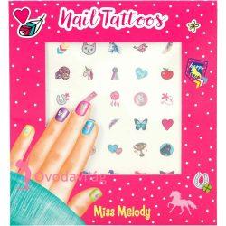 Körömtetováló szett - Miss Melody